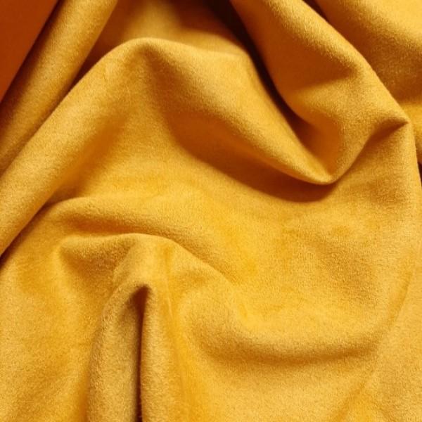 Искусственная замша для обложек,  цвет: охра, zam-147