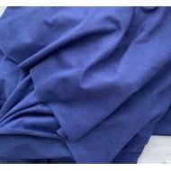 Искусственная замша для обложек,  цвет: васильковый, zam-22