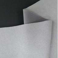 Искусственная замша для обложек,  цвет: светлый серый, zamsha_07