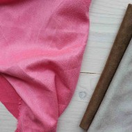 Искусственная замша, коротковорсная, цвет:фуксия, zamsha_10