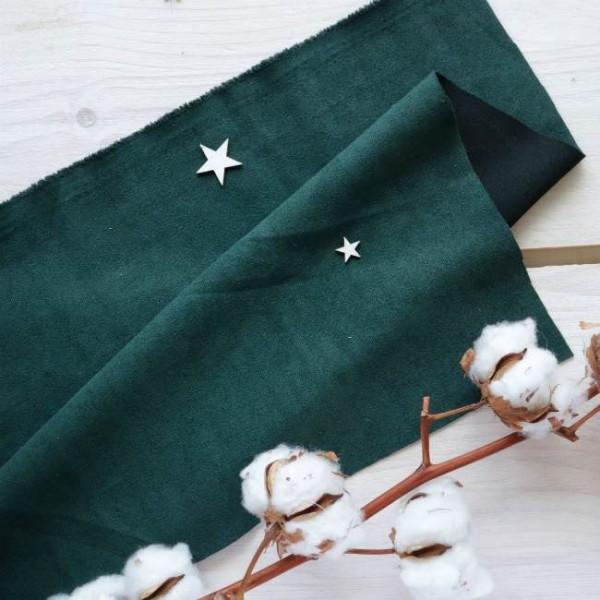 Искусственная замша для обложек,  цвет: темно-зеленый, zamsha_12