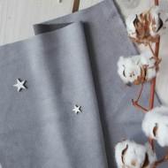 Искусственная замша для обложек,  цвет: серый, zamsha_15