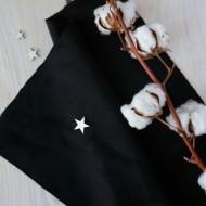 Искусственная замша для обложек,  цвет: черный, zam-17