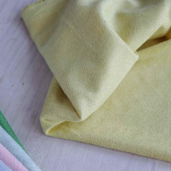 Искусственная замша, коротковорсная, цвет: светло-желтый, zamsha_4