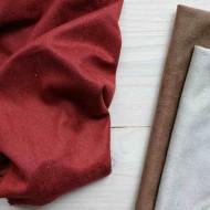 Искусственная замша, коротковорсная, цвет: темно-красный, zamsha_8