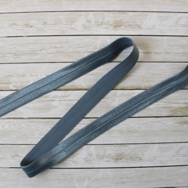Резинка для блокнота 16 мм, цвет: серый