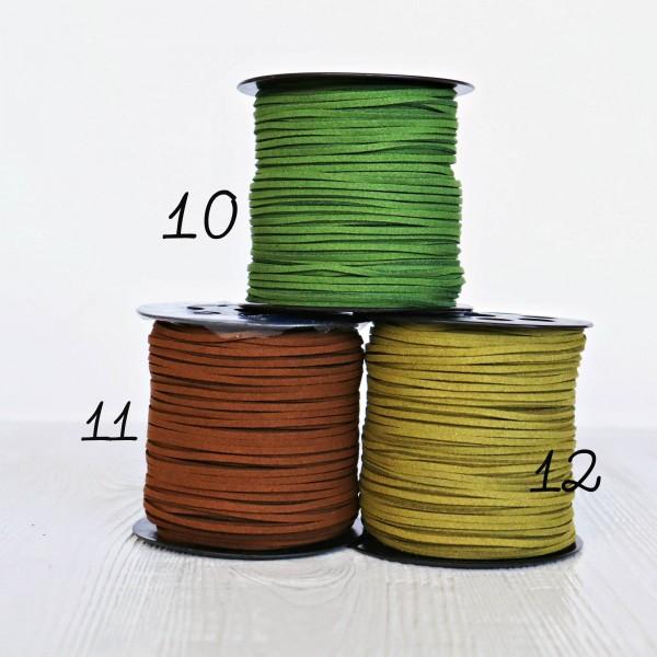 Шнур замшевый,толщина 3 мм
