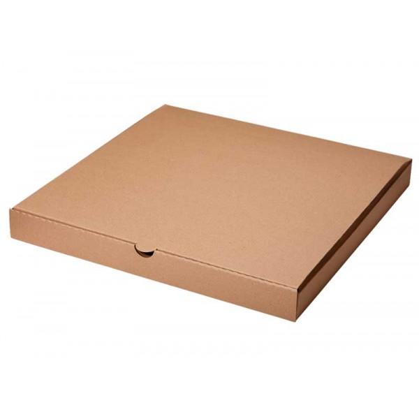 Крафт-коробка из микрогофры  310*310*40 мм