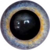 Глаза для игрушек, пришивные на петле, полусфера, размер 8 мм, цена за пару.  Арт. 188А