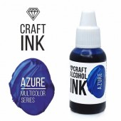 Алкогольные чернила Craft Alcohol INK,  Azure (Лазурь) 20мл