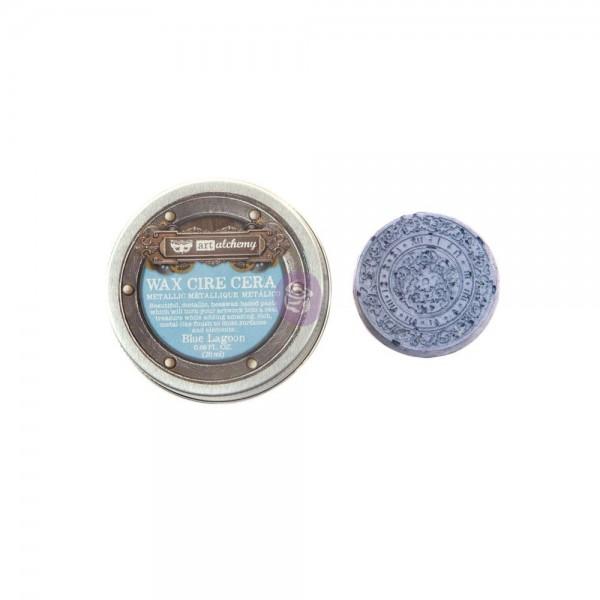 Восковая  паста Prima Marketing, Finnabair Metallique Wax -  Blue Lagoon, 20 мл