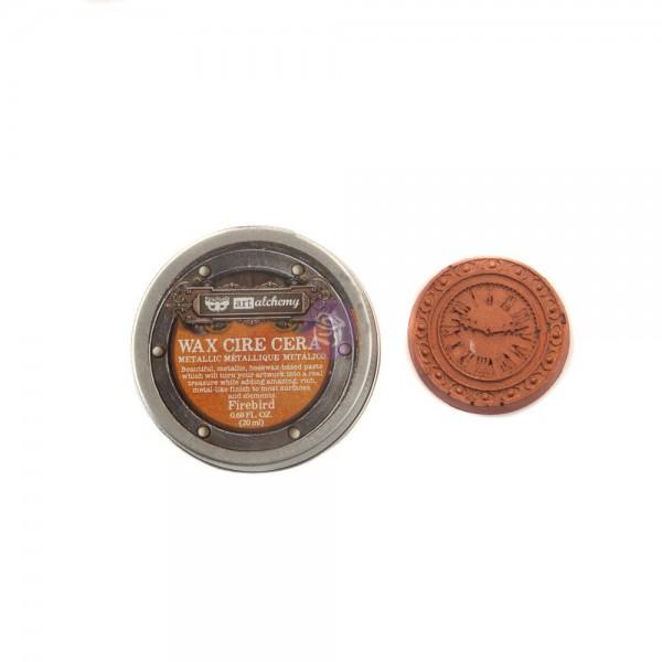 Восковая  паста Prima Marketing, Finnabair Metallique Wax -  FIREBIRD, 20 мл
