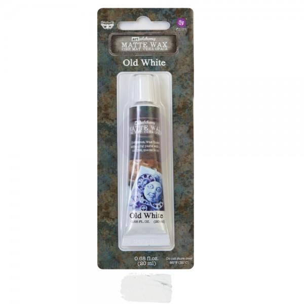 Восковая паста Prima Marketing, Finnabair Wax Paste - Old White, 20 мл