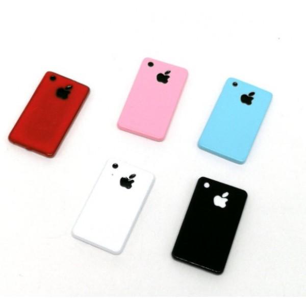 """""""Apple"""" - телефон, декор для куклы, миниатюра"""