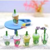 """""""Стаканчик с напитком"""" - декор для куклы, миниатюра"""