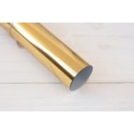 Термотрансферная пленка, золото зеркальное отражение, размер 25Х20 см арт. 17-0021