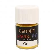 "Перламутровая пудра Cernit - CERNIT SPARKLING POWDER"" 5 гр (050 золото) арт. CE6100005"