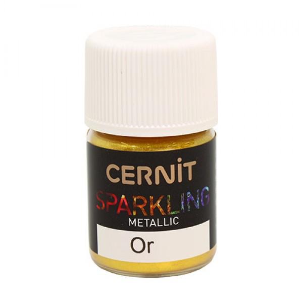 "Перламутровая пудра Cernit - CERNIT SPARKLING POWDER"" 5 гр (050 золото) арт. CE9100005"