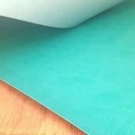Переплетный кожзам (Италия), цвет бирюзовый