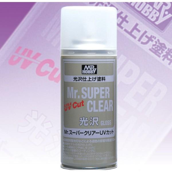 Лак MR. SUPER CLEAR глянцевый (Япония)