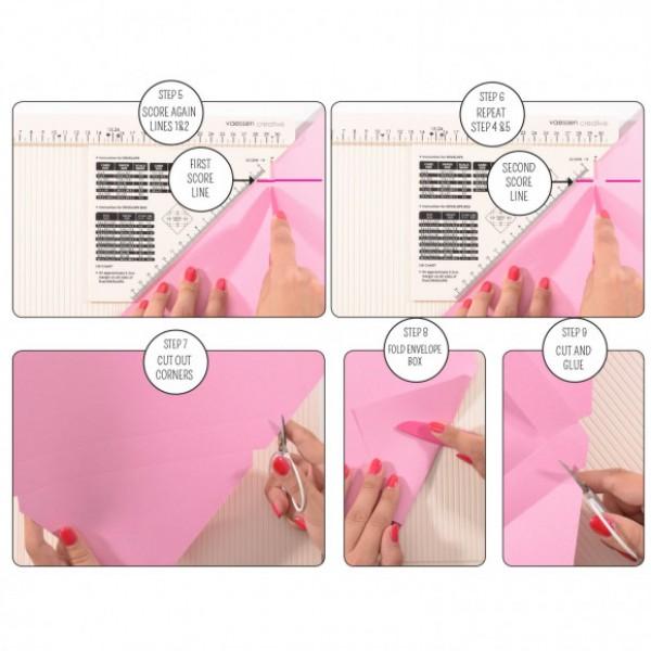 Доска для создания конвертов и открыток Creative • Score Easy Scoring board арт. 2137-047