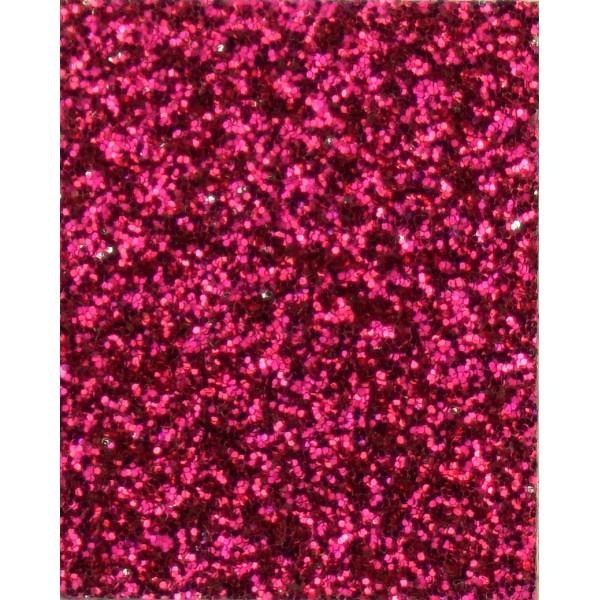 Термотрасферная пленка с глиттером, цвет hot pink, размер 20Х25см арт. G08