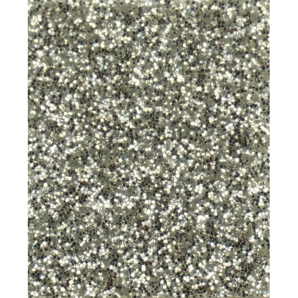 Термотрасферная пленка с глиттером, цвет серебро, размер 20Х25 см арт. G021
