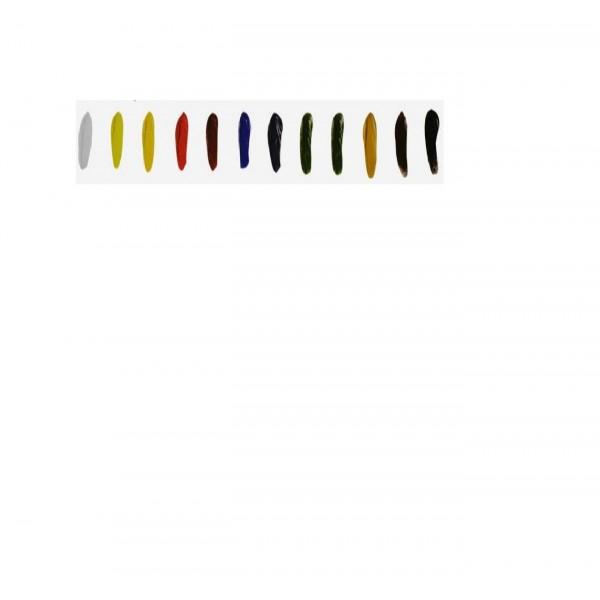 Набор масляной краски Winsor & Newton, 12 цветов по 12 мл.